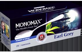 Чай черный «Earl Grey» + ложка в пакетиках