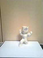 Экочеловечек Атлет, декорирован символами, сувенир