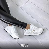 Жіночі кросівки білі, фото 1