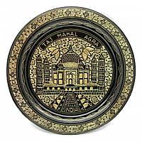"""Тарелка бронзовая настенная (25 см)(Wall Plate BD 10"""") ( 24728)"""
