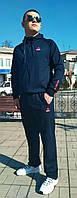 Костюм спортивный мужской Reebok  темно-синий, фото 1