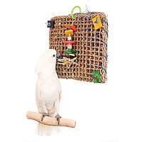 Фуражная Игрушка для крупного попугая (Саквояж)