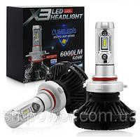 Комплект Автоламп LED X3 Philips Lumileds Z ES, HB4 (9006), 6000LM, 50W, 9-32V