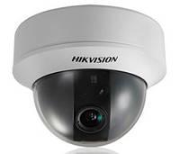 Видеокамера купольная цветная Hikvision