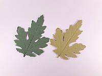Лист хризантемы. 1шт.
