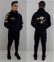 Стильный спортивный костюм The Pride  черный 122 см , фото 1