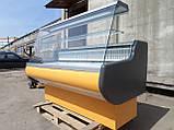 Витрина холодильная Росс 1,6 м. бу., гастрономический прилавок бу., фото 2