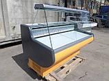 Витрина холодильная Росс 1,6 м. бу., гастрономический прилавок бу., фото 3
