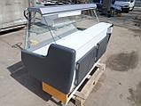 Витрина холодильная Росс 1,6 м. бу., гастрономический прилавок бу., фото 5