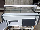 Витрина холодильная Росс 1,6 м. бу., гастрономический прилавок бу., фото 6