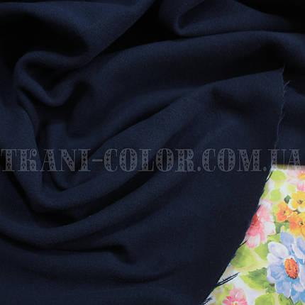 Пальтовая ткань кашемир темно-синий, фото 2