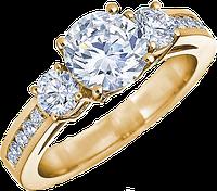 Новые кольца с бриллиантами