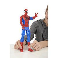 Фигурка Спайдермена высотой 30см. Spider-man Titan Hero Series. Оригинал Hasbro, фото 1