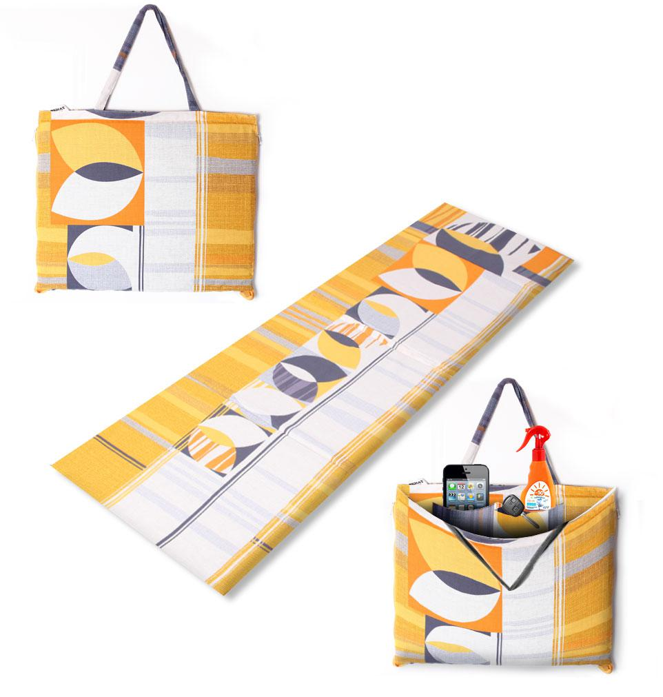 """Коврик-сумка """"RELAX"""" на липучке, голандия, 1024-hol"""