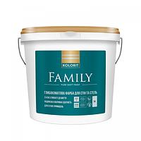 Интерьерная краска Family (Kolorit)