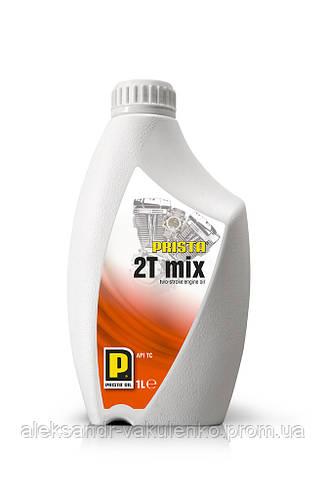 Моторное масло Prista 2T Mix, 1 л, двухтактные двигатели