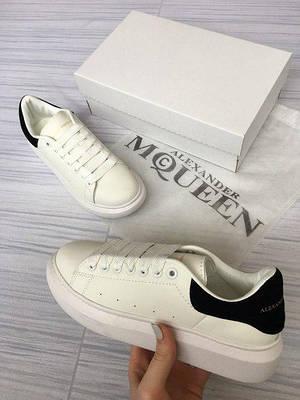 1e77646edd2b Кроссовки кеды белые женские Александр Макквин (Alexander Mcqueen) размер  36, 37, 38, 39, 40 реплика - отличное качество и доступные цены