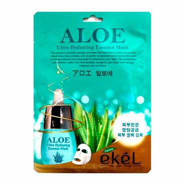 Ультраувлажняющая тканевая маска с Алоэ Ekel Ultra Hydrating Aloe Essence Mask