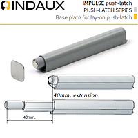 Демпфер накладной Indaux Impuls push-latch вынос 40 мм. , фото 1