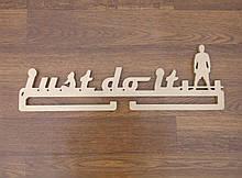 Медальница спортивная для штангиста