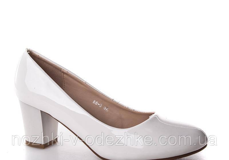 1de01364f242 Белые лаковые туфли на устойчивом каблуке 36- 41  продажа, цена в ...