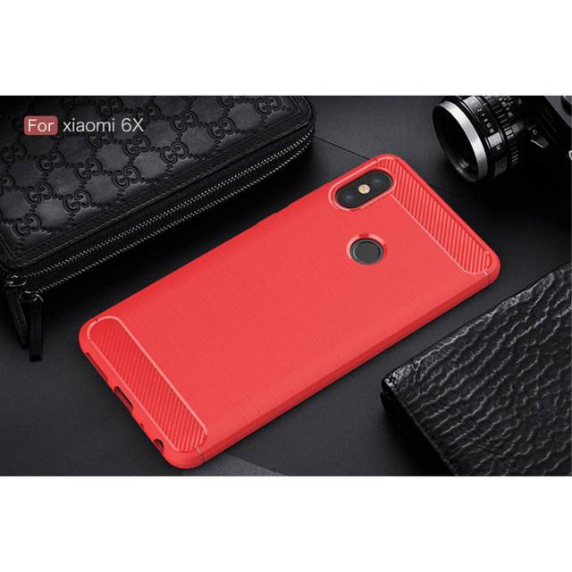 чехол Xiaomi Redmi Note 5 Pro накладка красный