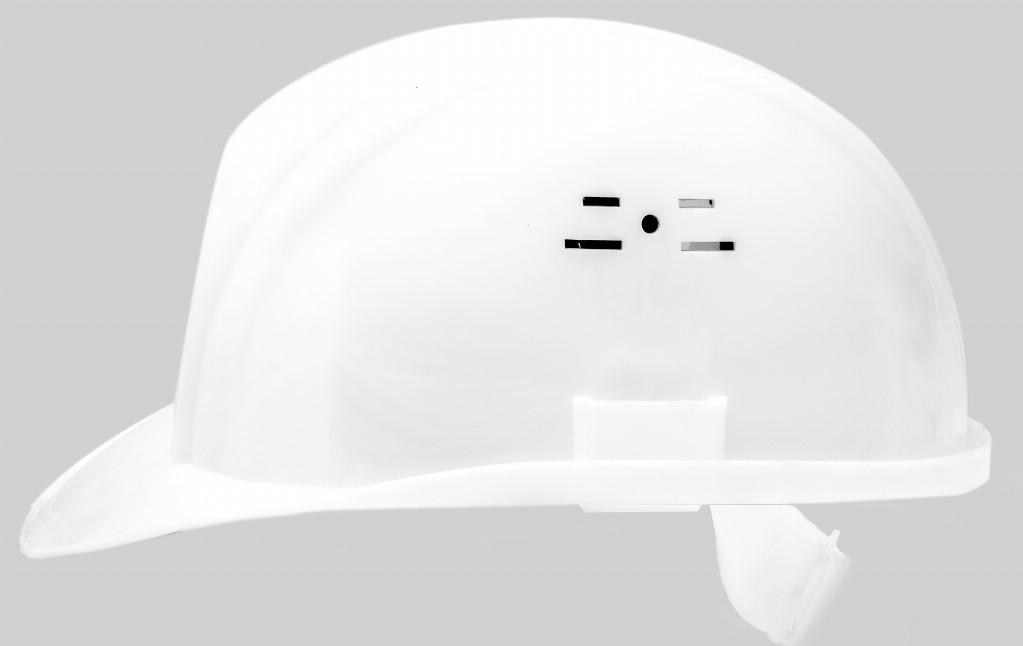 Каска будівельна біла