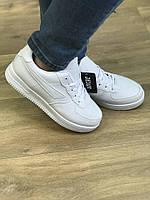 Белые кроссовки женские Nike Air Force (копия)