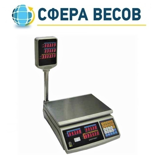 Весы торговые Днепровес F902H-3ED (3 кг)
