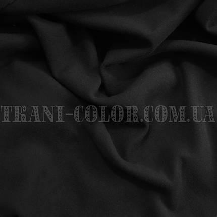 Пальтовая ткань кашемир черный, фото 2