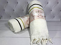Махровое пляжное полотенце BY IDO ТУРЦИЯ 100 коттон. махра. 90 x 170 см