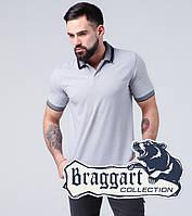 Футболка поло хлопковая Braggart - 6635 серый, фото 1