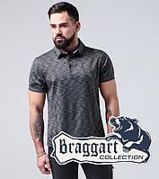 Поло футболка хлопок Braggart - 6658 синий
