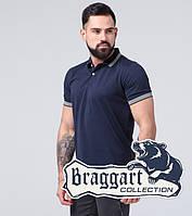 Футболка хлопковая мужская Braggart - 6637-А синий, фото 1