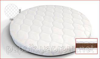 Матрас на кроватку IngVart BAGGYBED Round кокос 72*72 см