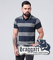 Футболка поло мужская Braggart - 6683 синий, фото 1