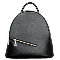 Оригінальний жіночий наплічник (рюкзак). Чорний.