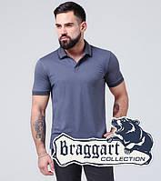 Футболка мужская Braggart - 6635 серо-синий, фото 1