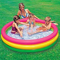 Детский надувной бассейн 33л 61х22 см Intex (57107)