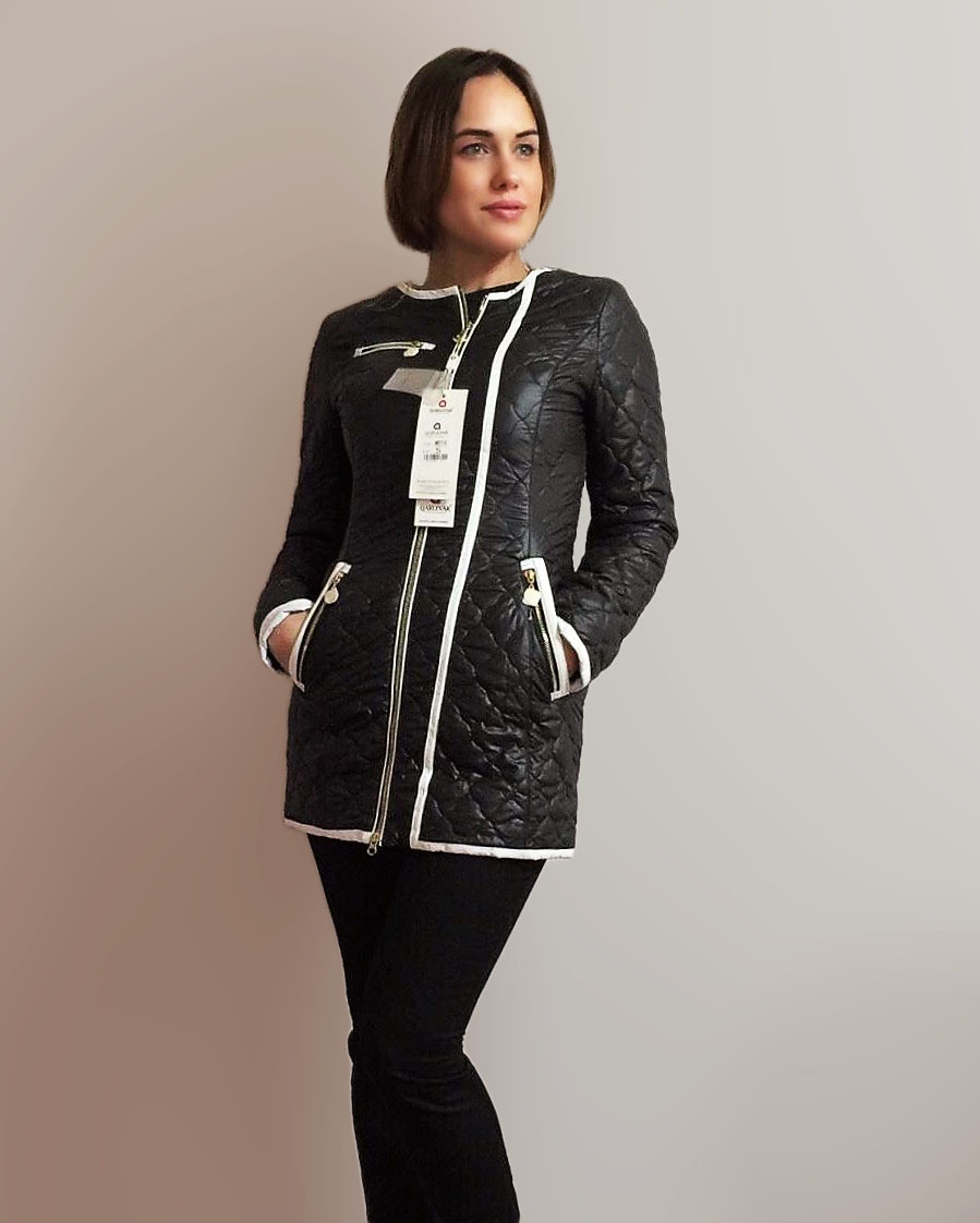 Демисезонная утепленная куртка. QARLEVAR   S-M