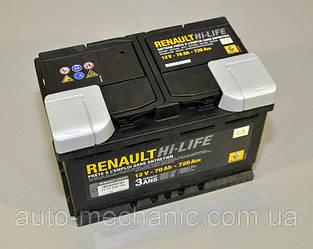 Аккумулятор L3 70AH на Renault Dokker 2012->- Renault (Оригинал) - 7711238598