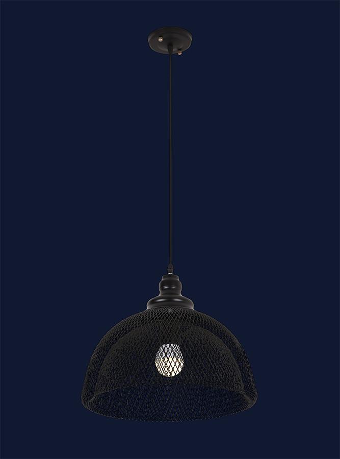 Подвесной светильник сетка 7079149-1 BK