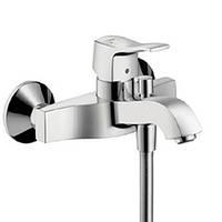 Metris Classic Смеситель для ванны, однорычажный, (шлиф.никель)