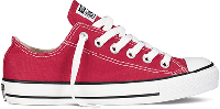 Кеды Converse All Star Low Viano в бордовом цвете, фото 1