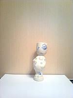 Экочеловечек Беременяша из фарфора, компьютерная коллекция, подарок программисту