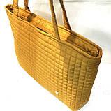 Женские стеганные сумки дешево опт (красный)31*48, фото 2