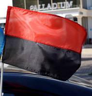 Автомобільний прапор УПА (40х25см) з флагштоком