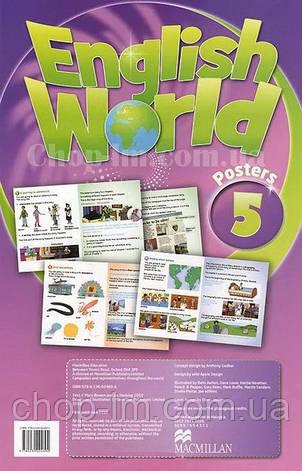 English World 5 Posters (набор плакатов), фото 2