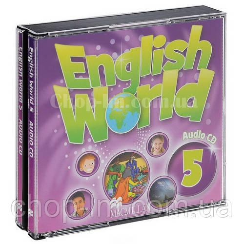 English World 5 Audio CDs (аудио-диск к курсу)