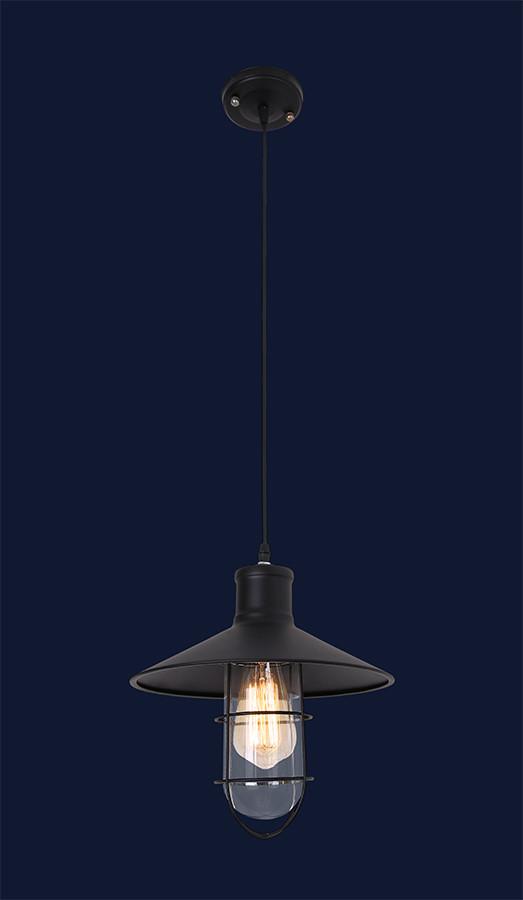 Небольшой подвесной светильник 7079152-1 BK (270)